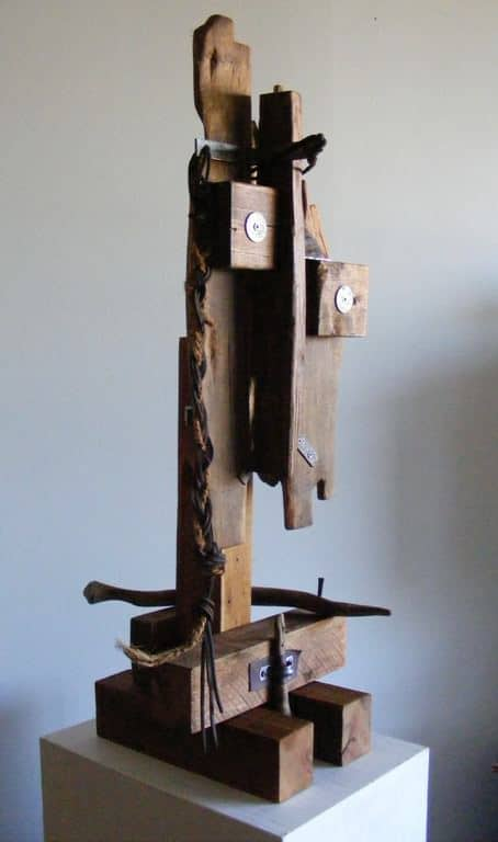 Characters Sculpture 1 • Recycled Art