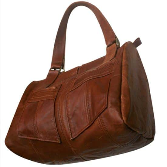 100% Upcycled Leather Bags 3 • Accessories