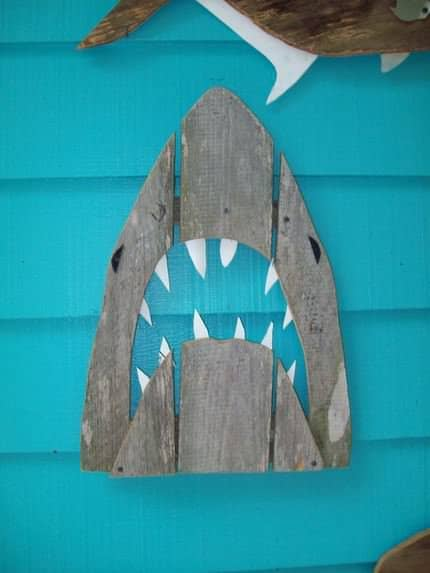 Fence Wood Art 2 • Recycled Art