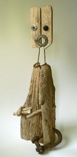 Driftwood Sculptures 2 • Recycled Art