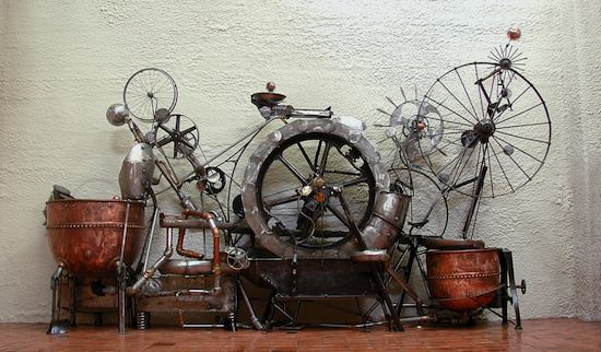 Kinetic Sculptures 2 • Recycled Art