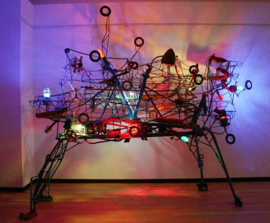 Kinetic Sculptures 1 • Recycled Art