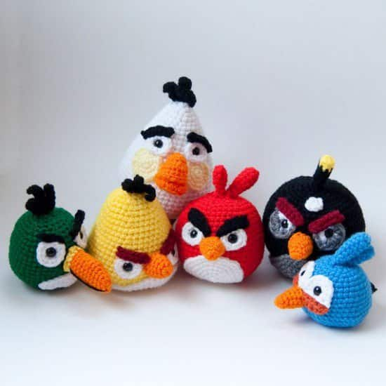 Diy: Crocheted Angry Birds 2 • Clothing
