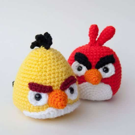 Diy: Crocheted Angry Birds 3 • Clothing