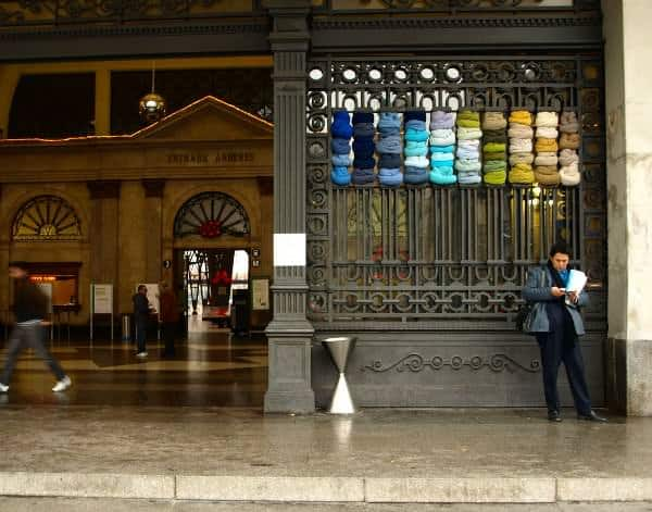 City Textile Installation 2 • Clothing