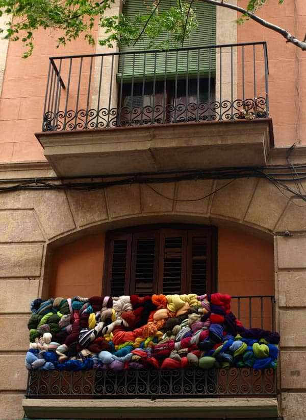 City Textile Installation 3 • Clothing