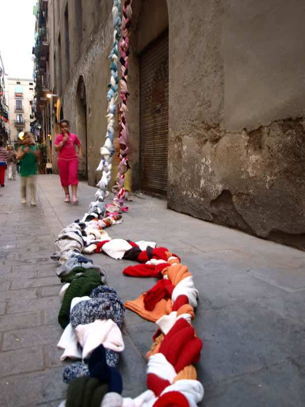 City Textile Installation 4 • Clothing
