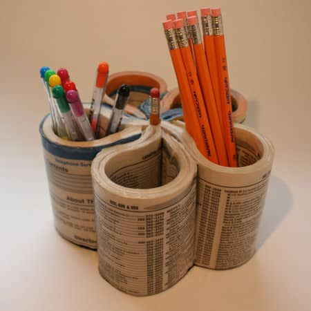 Diy : Phone Book Pen Organizer 2 • Accessories