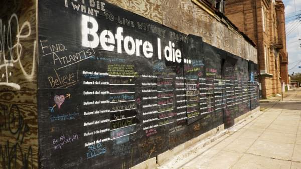 Before I Die I Want To... 3 • Interactive, Happening & Street Art