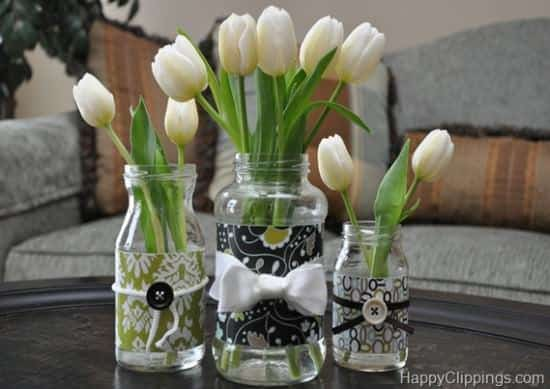 Diy: Repurposed Glass Jar 1 • Do-It-Yourself Ideas