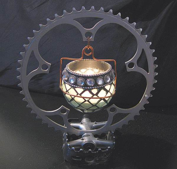 Bike Candle Holder 1 • Accessories