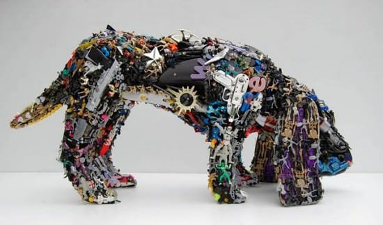 Robert Bradford 3d Plastic Sculptures 3 • Recycled Art