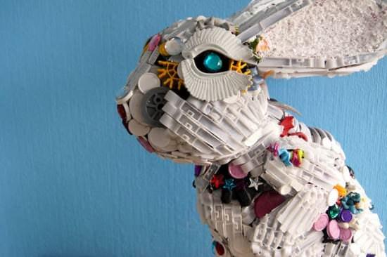 Robert Bradford 3d Plastic Sculptures 6 • Recycled Art