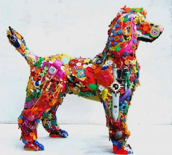 Robert Bradford 3d Plastic Sculptures 2 • Recycled Art