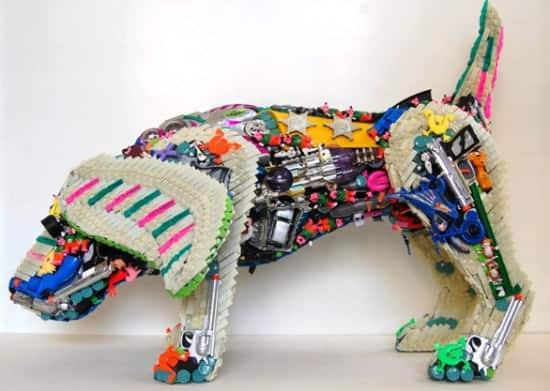 Robert Bradford 3d Plastic Sculptures 4 • Recycled Art