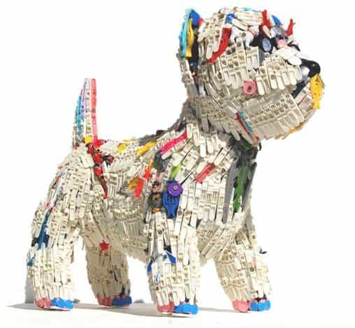 Robert Bradford 3d Plastic Sculptures 1 • Recycled Art