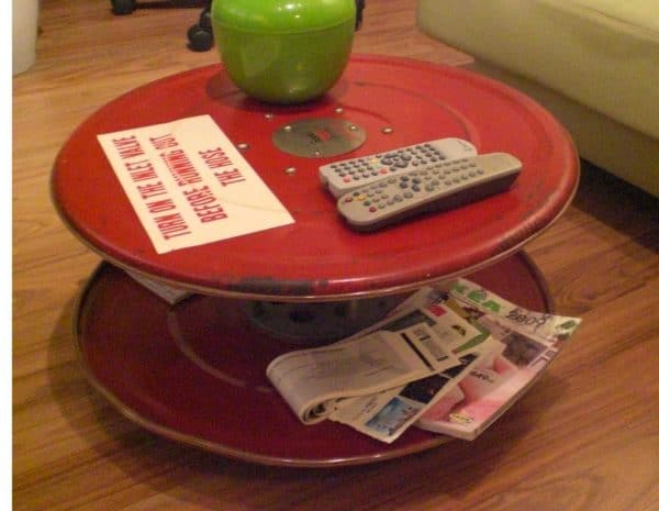 fire hose reel table