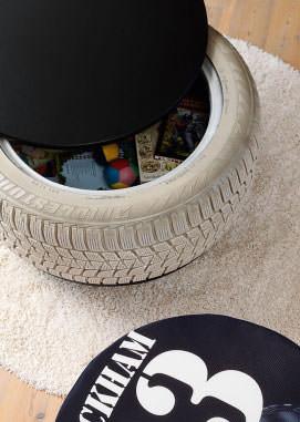 Diy: Tire Toys Box 1 • Do-It-Yourself Ideas