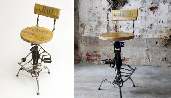 Bicycle Furnitures 2 • Recycled Furniture
