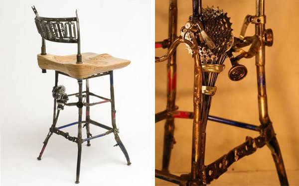 Bicycle Furnitures 3 • Recycled Furniture