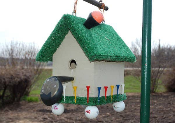 Golfer's Birdhouse 2 • Accessories