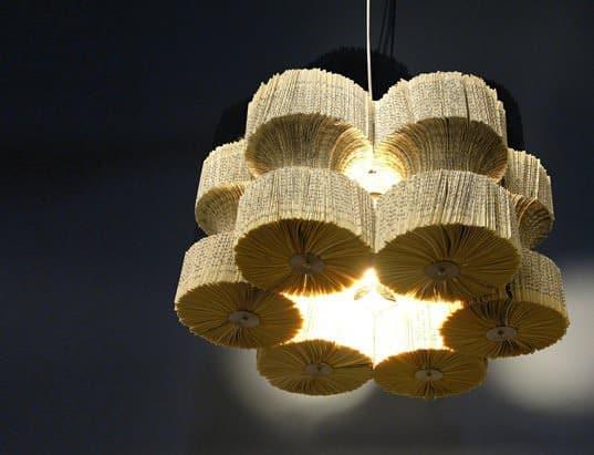 Books Chandelier 1 • Lamps & Lights