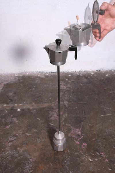 Coffee Maker Repurposed Into Ashtray 3 • Accessories