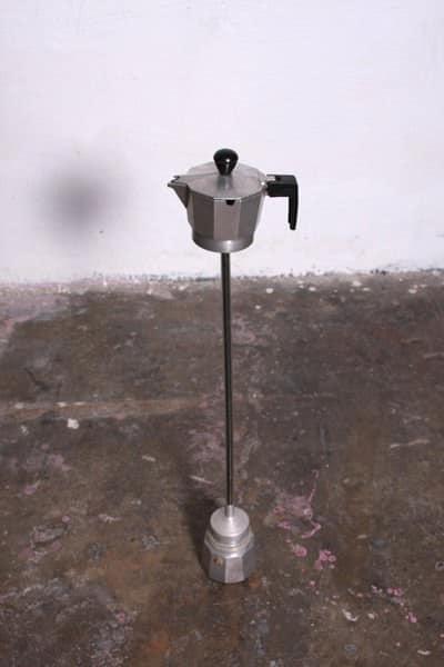 Coffee Maker Repurposed Into Ashtray 2 • Accessories