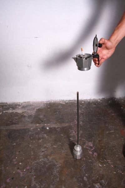 Coffee Maker Repurposed Into Ashtray 4 • Accessories