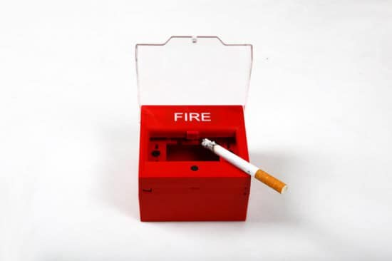 Fire Alarm Ashtray 2 • Accessories