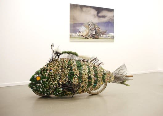 Rubbish Fish Art: Yodogawa Technique 2 • Recycled Art