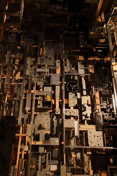 Spectacular Dead Computers Room Installation ! 6 • Recycled Art