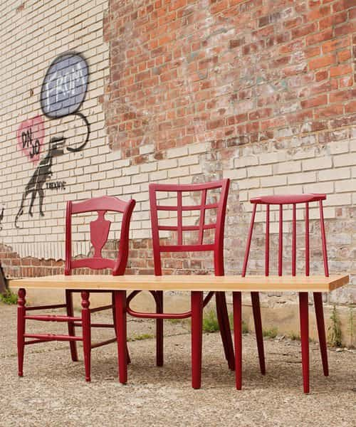 Green Avenue Bench Collection 1 • Recycled Furniture