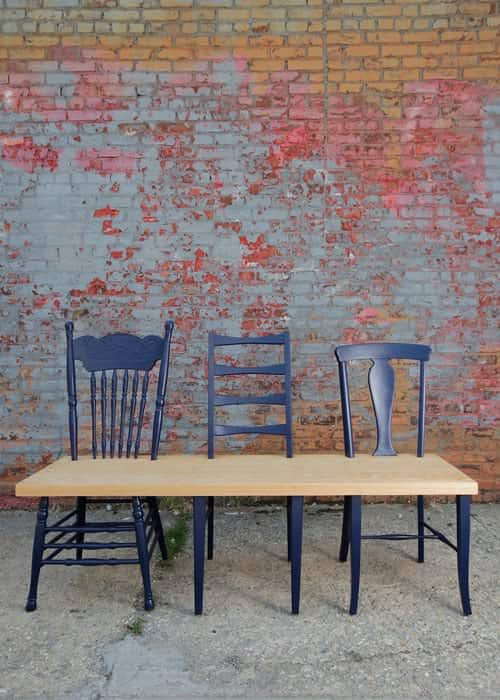 Green Avenue Bench Collection 4 • Recycled Furniture