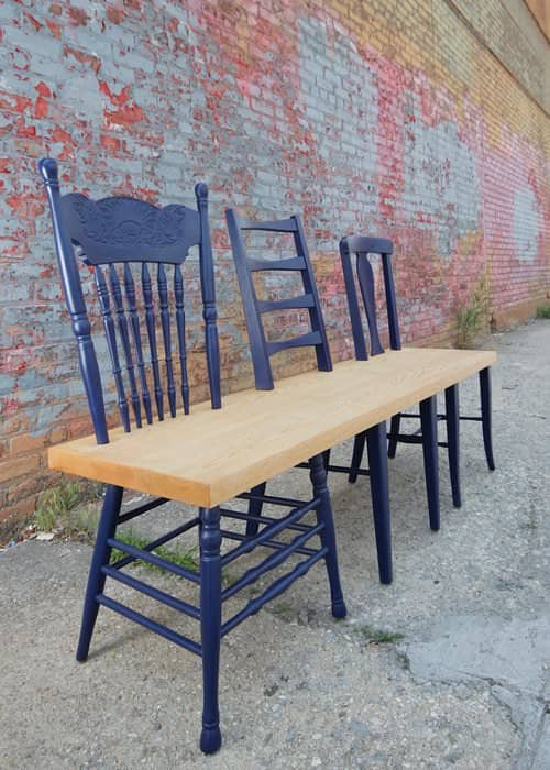 Green Avenue Bench Collection 5 • Recycled Furniture