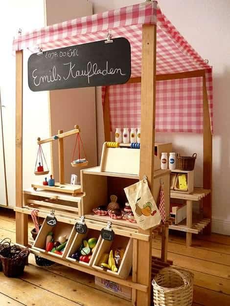 Diy : Kids Grocery Store 1 • Do-It-Yourself Ideas
