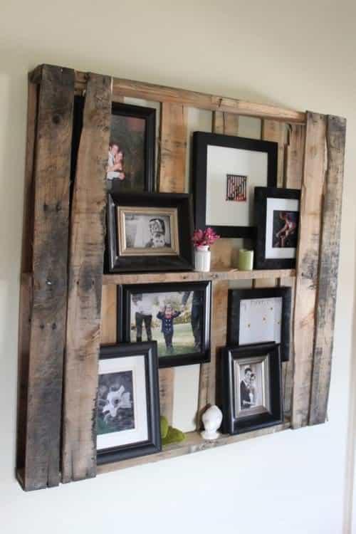 Pallet Floating Shelves 1 • Recycled Furniture