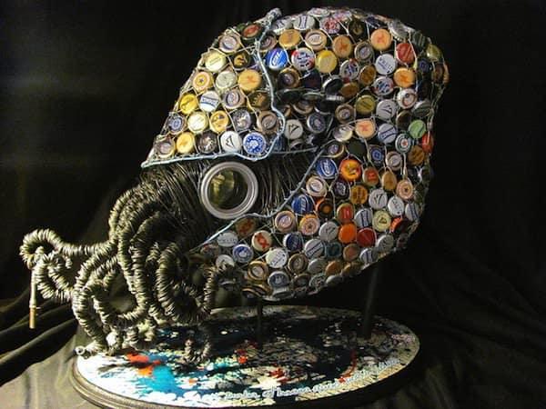 Nautilus 1 • Recycled Art