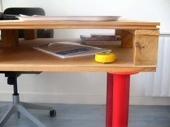 Diy : Pallet Desk Do-It-Yourself Ideas Recycled Pallets Wood & Organic