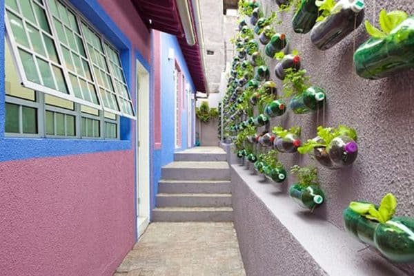Plastic Bottles Garden 3 • Do-It-Yourself Ideas