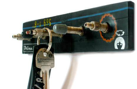 Bicycle Valves Key Holder 1 • Accessories