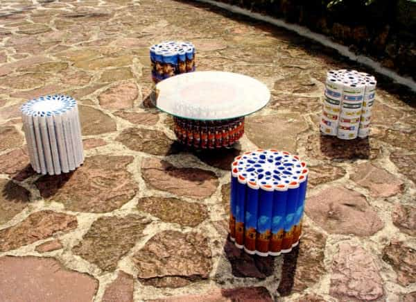 The Mandala Series 1 • Recycled Furniture