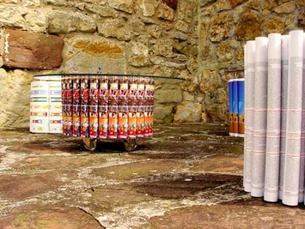 The Mandala Series 2 • Recycled Furniture
