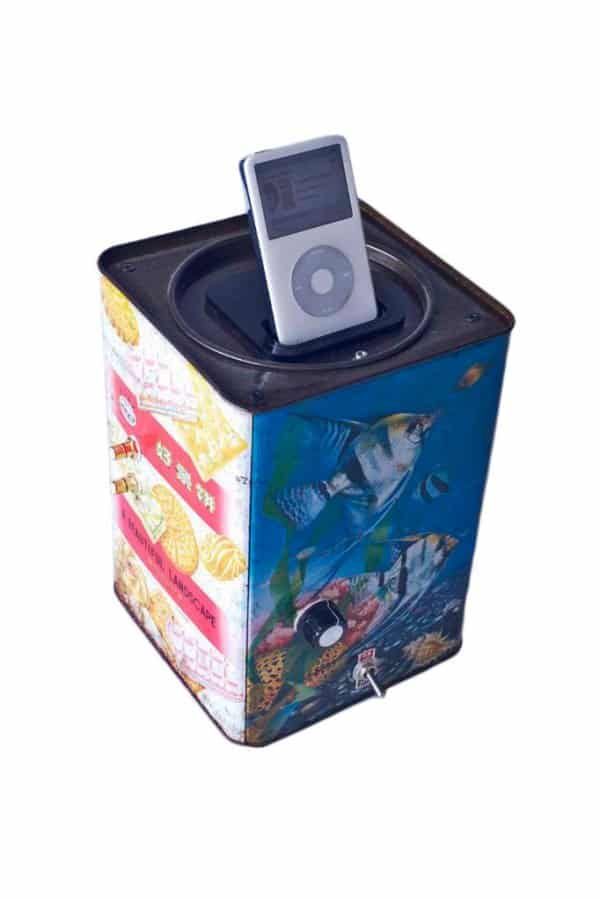 Ipod Biscuit Box Amplifier 3 • Recycled Electronic Waste