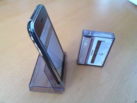 Upcycled Iphone Stand / Dock 1 • Accessories