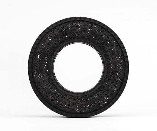 Car Tires Art 2 • Recycled Art