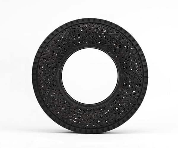 Car Tires Art 3 • Recycled Art