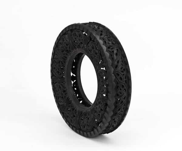 Car Tires Art 1 • Recycled Art