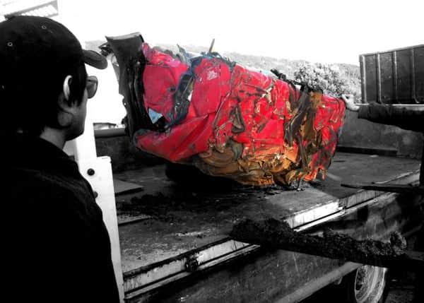 Crashed Ferrari Becomes A Table 3 • Mechanic & Friends