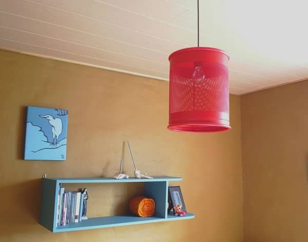 Trashcan Untrashed Into Hanging Lamp 1 • Lamps & Lights